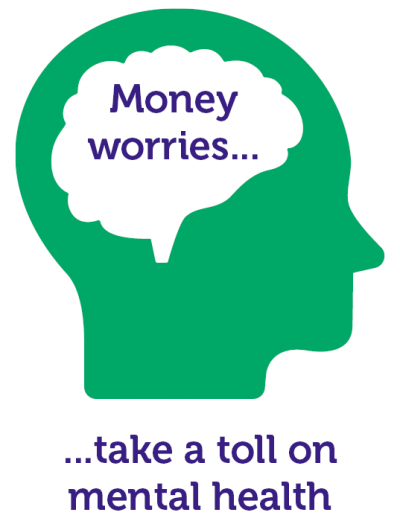 Money worries take a toll on mental health