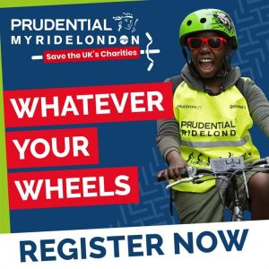 Advert for Prudential MyRideLondon